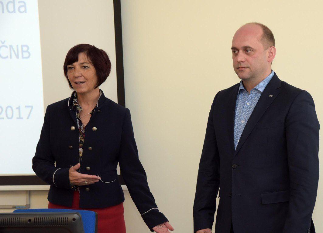 Měnová politika ČNB - Vojtěch Benda, člen bankovní rady ČNB 2017