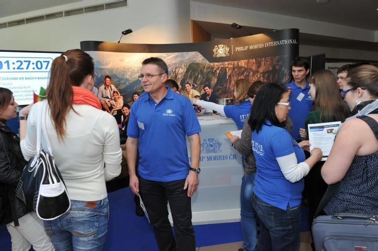Veletrh pracovních příležitostí Kontakt 2014