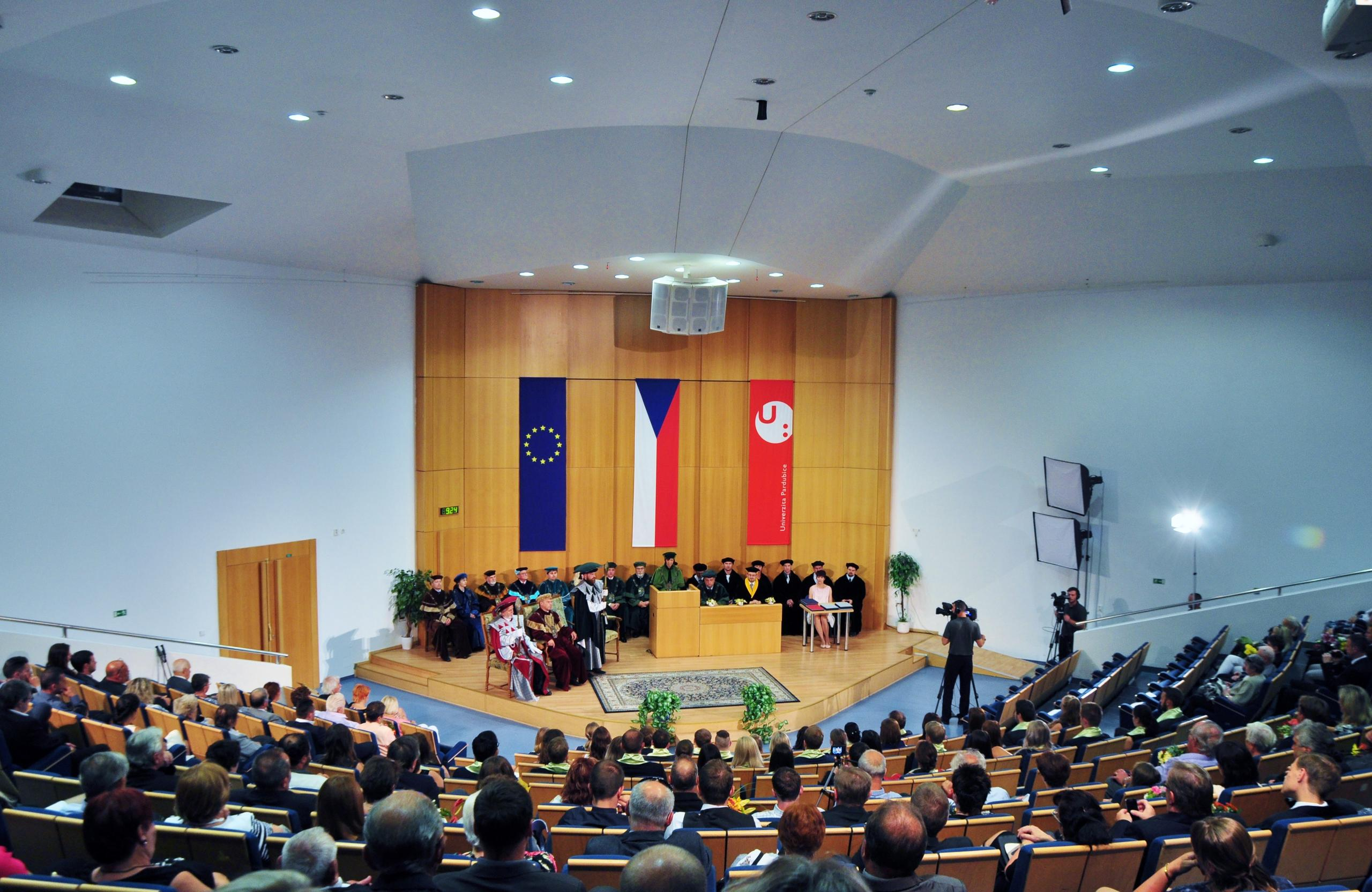 Akademické obřady 2017